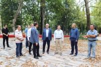MEZAR TAŞLARı - Muradiye Parkı Açılış İçin Gün Sayıyor