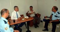 MUSTAFA SAVAŞ - Mustafa Savaş'tan Görevi Başındaki Güvenlik Güçlerine Bayram Ziyareti