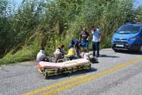 DALYAN - Ortaca'da Tatil Dönüşü Trafik Kazası; 4 Yaralı