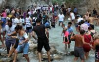 SAKLıKENT - Saklıkent Kanyonu'nda Adım Atacak Yer Kalmadı