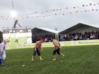 İSMAİL BALABAN - Arnavutköy'de Yağlı Güreş Şampiyonu İsmail Balaban