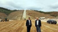 DEREKÖY - Başkan Yalçın, Dereköy Barajında İncelemelerde Bulundu