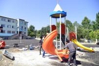 TAHTEREVALLI - Büyükşehir Belediyesi, Çocuk Oyun Parkları Ve Spor Alanları Oluşturmaya Başladı
