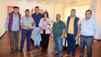 DEVE GÜREŞİ - Deve Güreşi Sevenler Derneği'nden Başkan Çerçioğlu'na Ziyaret