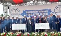 VAHDETTIN ÖZKAN - Kahramanmaraş'ta Kamu Külliyesinin Temeli Atıldı