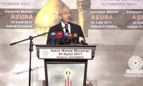 HALKALı - Kılıçdaroğlu, Evrensel Aşura Matem Merasimine Katıldı