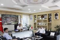 CUMHURİYET MEYDANI - Kurum Müdürlerinden Başkan Duymuş'a Ziyaret