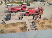 Milas TOKİ'de Yangın Paniği