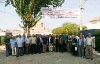 SARıKEMER - Sarıkemer Mahallesindeki Alt Yapı Projesinde Yükleniciye Yer Teslimi Yapıldı