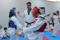 Siirt'te Tekvando Kuşak Sınavı Yapıldı