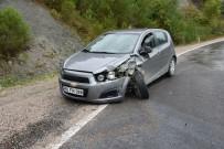 Sinop'ta Trafik Kazası Açıklaması 4 Yaralı