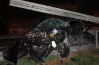 MEHMET ÖZDEMIR - TEM - Okmeydanı Bağlantı Yolunda Feci Kaza Açıklaması 2 Yaralı