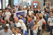 OCAKLAR - Atatürk Havalimanı'nda Bayram Dönüşü Yoğunluğu