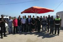 İSTANBUL YOLU - Emniyet Müdürü Görev Başındaki Polislerle Bayramlaştı