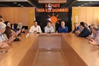 ENVER YıLMAZ - Fatsa AK Parti'de Bayramlaşma Programı