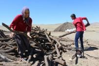 MANGAL KÖMÜRÜ - Herkes Bayram Yaparken Onlar Mangal Kömürü İçin Ter Döküyor