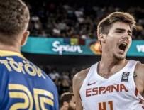 CLUJ - İspanya çıldırdı! 41 sayı fark