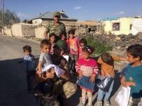 DINLER - Jandarmadan Şehit Ve Gazi Ailelerine Yardım