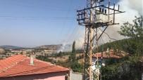 Kepsut'ta Orman Yangını