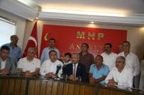 MUSTAFA AKSOY - MHP Antalya İl Başkanlığı'nda Bayramlaşma