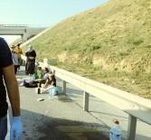 KEMERBURGAZ - Bayram Dönüşü Feci Kaza Açıklaması 1 Ölü, 6 Yaralı