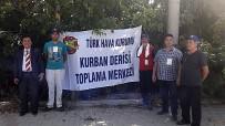 TÜRK HAVA KURUMU - THK Kırklareli'de 2 Bin 86 Adet Kurban Derisi Topladı