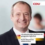 HRISTIYAN - Almanya CDU Milletvekili Oliver Wittke'den Anlamlı Davranış