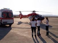 SAFRA KESESİ - Ambulans Helikopter Minik Mehmet Ali İçin Havalandı