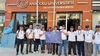 AÇIKÖĞRETİM FAKÜLTESİ - Anadolu Üniversitesi 'Kocatepe Zafer Yürüyüşüne' Katıldı