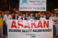 UĞUR MUMCU - Arakanlılara Yapılan Zulmü Protesto Eden Gruba Hakaret