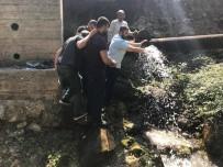 BEKIR ALTAN - Başkan Altan'dan Su Kesintilerine Su Kaynağından Tepki