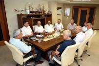 RECEP ÖZTÜRK - Başkan Karaosmanoğlu Derinceli Muhtarlarla Buluştu