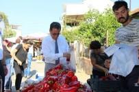 PAZARCI - Başkan Saka Evinin Alışverişini Pazardan Yapıyor