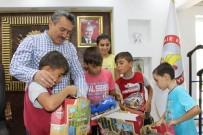 Başkan Tutal, Çocuklarla Bayramlaştı