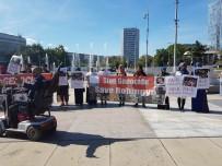 CENEVRE - BM Önünde 'Arakan' Protestosu