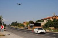 ŞERİT İHLALİ - Jandarma Bayramda Yollarda Dorene İle Denetim Yaptı