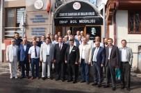YOĞUN MESAİ - Karacan'dan Esnaf Odaları Birliği'ne Ziyaret
