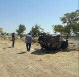 Konya'da Otomobil Şarampole Yuvarlandı Açıklaması 1 Ölü, 2 Yaralı