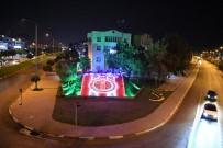 KONYAALTI BELEDİYESİ - Konyaaltı İlçesine Antalyaspor Temalı Işıklı Yeşil Doku