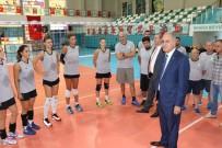 AKIF ÜSTÜNDAĞ - Manisa Büyükşehir Belediyespor Federasyon Başkanını Ağırladı
