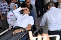 FATIH DEMIR - MHP İlçe Yöneticileri, Kültür İşleri Müdürünü Hastanelik Etti