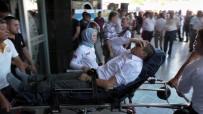 FATIH DEMIR - MHP İlçe Yöneticileri Tarafından Hastanelik Edildi