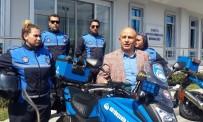 EDIRNEKAPı - Motosikletli Kadın Zabıtalar İşbaşı Yaptı
