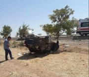 Otomobil Şarampole Yuvarlandı Açıklaması 1 Ölü, 2 Yaralı