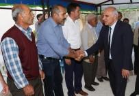 YALIM EREZ - Vali Zorluoğlu'ndan Personellerine Taziye Ziyareti