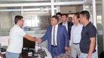 KAYIP KAÇAK - VASKİ Genel Müdürü Tekataş Göreve Başladı