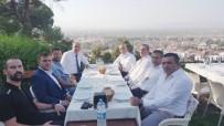 AKIF ÜSTÜNDAĞ - Voleybol Federasyonu Başkanı Üstündağ Salihli'de