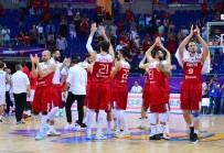 LETONYA - A Milli Erkek Basketbol Takımı, Letonya'ya Karşı