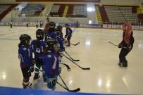 FATMA BETÜL SAYAN KAYA - 'ASP Minikler Buz Hokeyi Şampiyonası' Buz Hokey Kampı Başladı