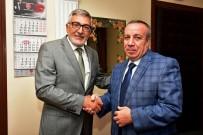MUSTAFA TAŞ - Başkan Bozkurt'tan İlçe Kaymakamı Mustafa Taş'a Hayırlı Olsun Ziyareti